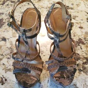 Paper Fox Women's platform heels